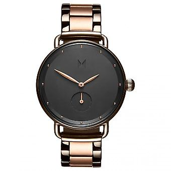 MVMT D-FR01-TIRG Watch - Steel Dor Rose Black Women's Dial