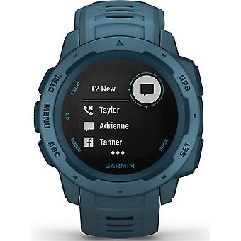 Garmin 010-02064-04 Instinct GPS Lakeside Blue Smartwatch