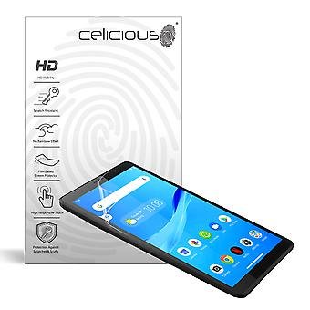 Celicious Vivid Invisible Glossy HD Screen Protector Film Compatible with Lenovo Tab M7 [Pack of 2]