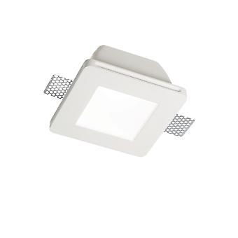 Ideal Lux Samba 1 Light Einbaustrahler Weiß IDL150116