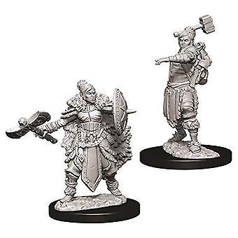 D&D Nolzur's Marvelous Unpainted Miniatures Female Half-Orc Barbarian (6 Packs)