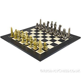 مجموعة الشطرنج السوداء الكبرى المصرية