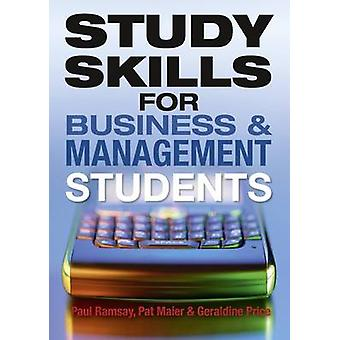Study Skills for Business and Management Students by Pat Maier