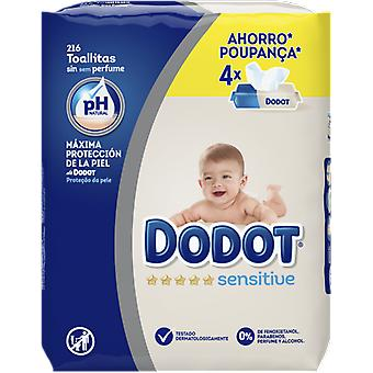 Dodot Sensitive Baby Wipes 216 Units (Baby & Toddler , Diapering , Baby Wipes)
