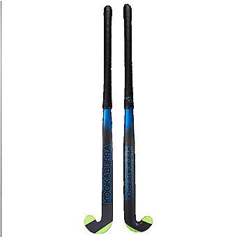 Kookaburra 2018 Ultralite Xenon L-Bow Extreme 1.0 Field Hockey Stick Nero/Blu