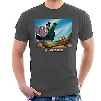 An American Tail Henri Give Fievel Hope Men's T-Shirt