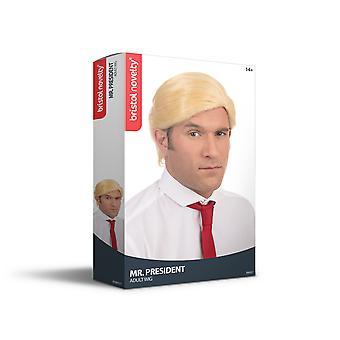 Bristol Novelty Mens Mr President Wig