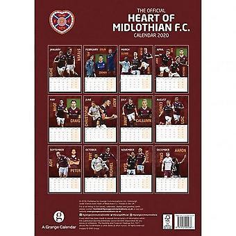 Calendario Heart Of Midlothian FC 2020