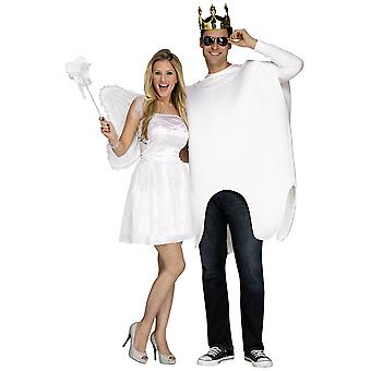 Tooth Fairy & Giant Tooth Fairytale Dentist Funny Couples Mens Womens Costume