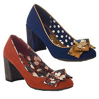 Ruby shoo kvinder ' s Pandora Low Heel Court sko