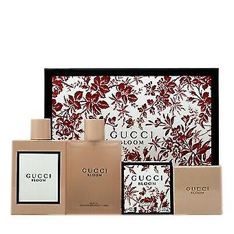 Gucci Bloom Zestaw prezentów 100ml EDP + 100ml Olejek do ciała + 100g Perfumowane mydło