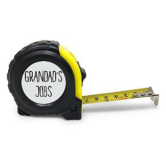 Grandad's Jobs Tape Measure