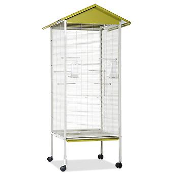 Voltrega 445 Pistachio Grey Aviary 78X74X165Cm (Birds , Cages and aviaries , Aviary)