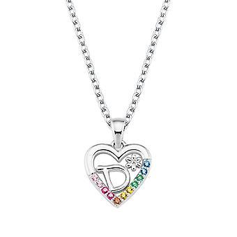 Princess Lillifee Kids Necklace Silver Letter Necklace D Girls 2027879
