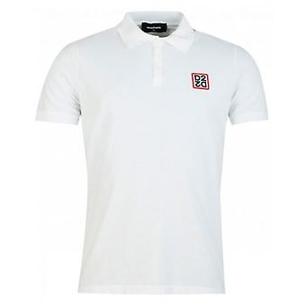 Chemise Polo Logo Dsquared2 Classic Fit