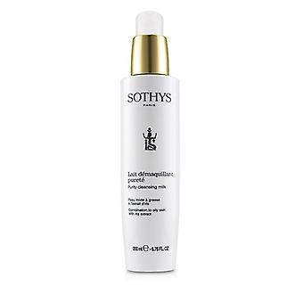 Renhed Cleansing Milk - For kombination til fedtet hud med Iris Ekstrakt - 200ml/6.76oz