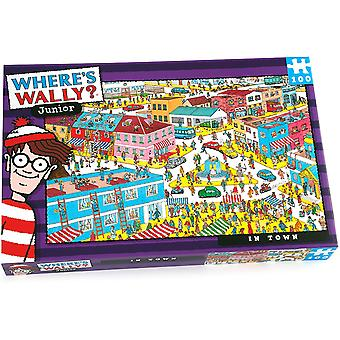 Paul Lamond Where's Wally Junior In Town 100 Piece Jigsaw Puzzle
