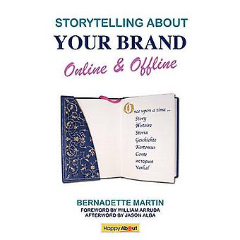 Storytelling About Your Brand Online  Offline Effectively message your online using social media such as LinkedIn Facebook and twitter and offline brand through elevator pitches storytelling a by Martin & Bernadette