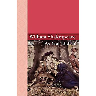 As You Like It von Shakespeare & William