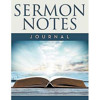 Sermon Notes Journal by Publishing LLC & Speedy