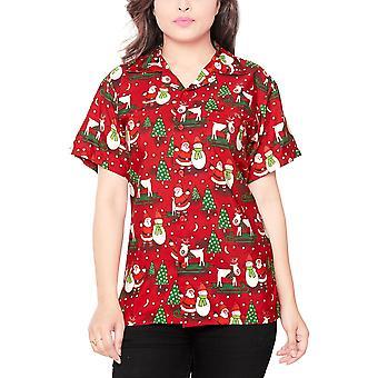 Club cubana women's regular fit classic short sleeve casual blouse shirt ccwx6
