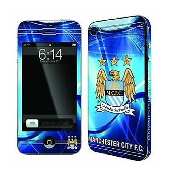 Officielle FC skins til iPhone 4/4S-Manchester City FC