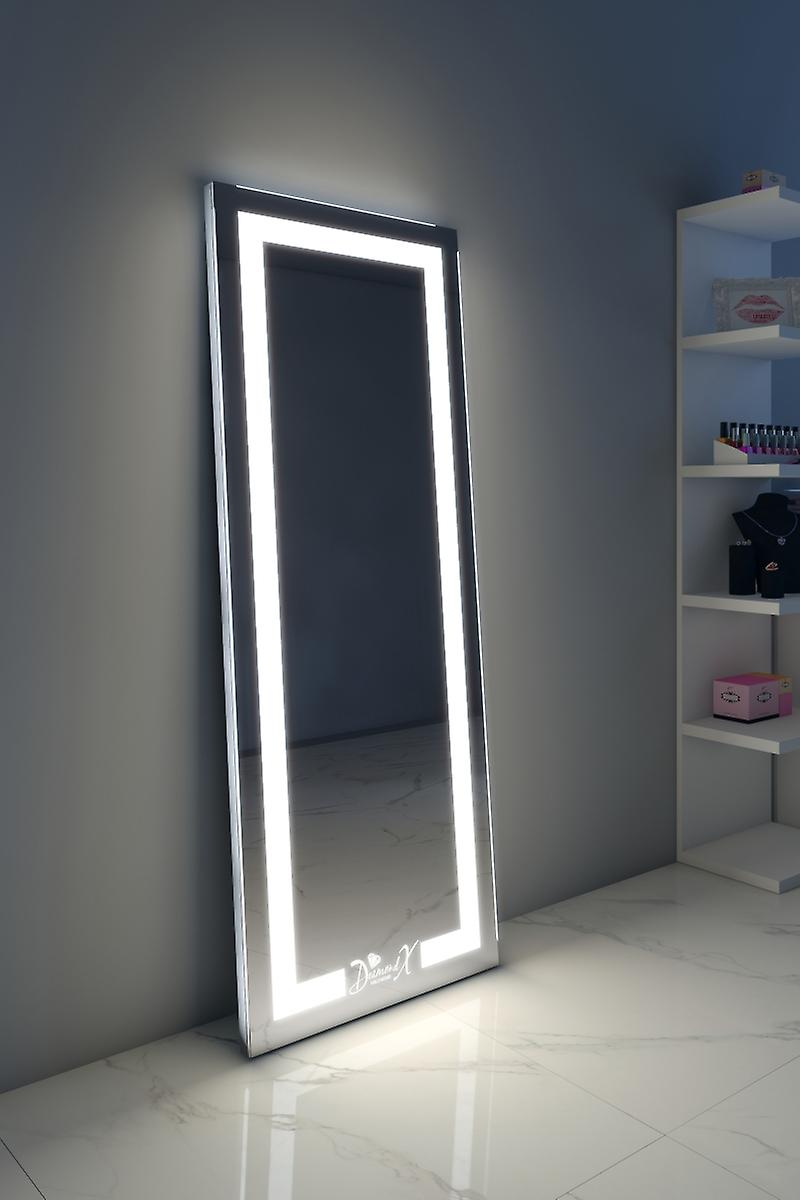 RGB Alexa Audio Full Length Floor Mirror With Warm & Daylight LED