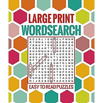 Large Print Wordsearch - Easy to Read Puzzles by Arcturus Publishing -