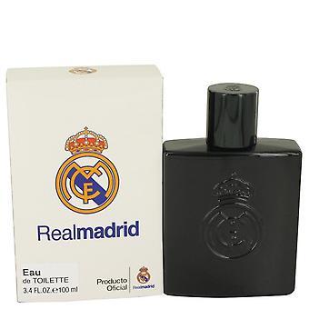 Real Madrid sort Eau De Toilette Spray af luft Val internationale 3,4 oz Eau De Toilette Spray