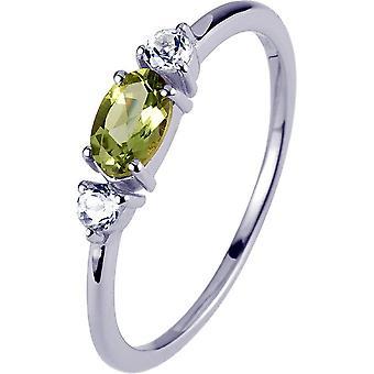 ז'אק למאן-טבעת מכסף עם פרידוט-SE-R113B52-רוחב הטבעת: 52
