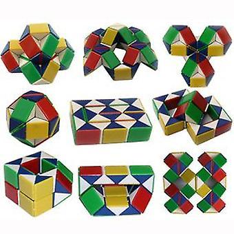 Snake Cube / Snake Twist / Magic Cube (Multifärg)