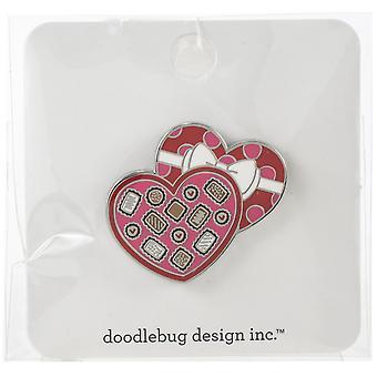 Doodlebug Design Chocolate Box Collectible Pin
