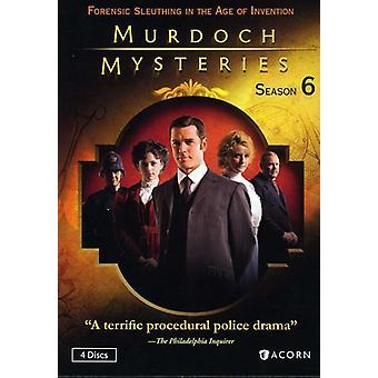Murdoch Mysteries: Season Six [DVD] USA import