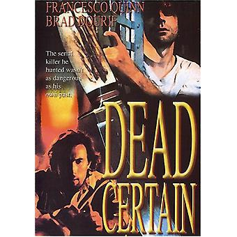 Dead Certain [DVD] USA import