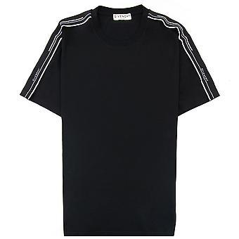 Givenchy Kontrast T-shirt Schwarz