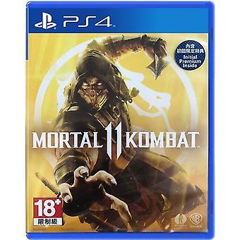 Mortal Kombat 11 PS4-spel