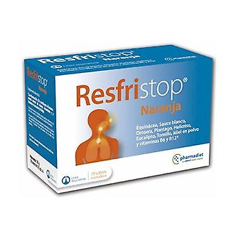 Orange Fristop 10 packets
