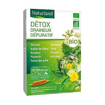 Detoxidraine Detox Bio 20 ampoules of 10ml