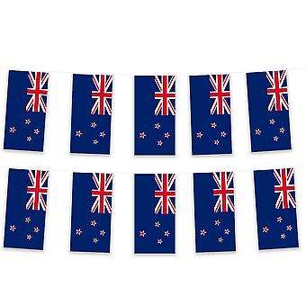 Pack of 3 New Zealand Bunting 15m Kiwi Polyester Fabric Rugby Country