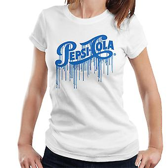 Pepsi Cola 1940er Jahre Farbe Tropfen Frauen's T-Shirt