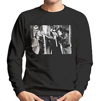 Les damnés en dehors de Sweatshirt Stiff Records 1977 masculine