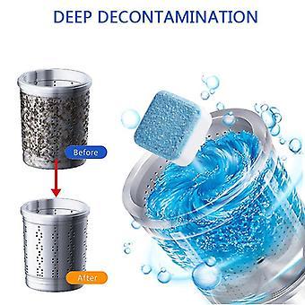 Vaskemaskin vaskemaskin vaskemaskin renere - klesvask såpe vaskemiddel sprudlende tablett