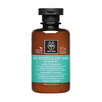 Oily Root and Dry End Balancing Shampoo with Nettle and Propolis 250 ml