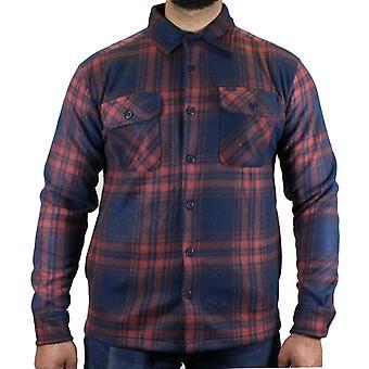 Mens Soft Fleece Check Werk Shirt