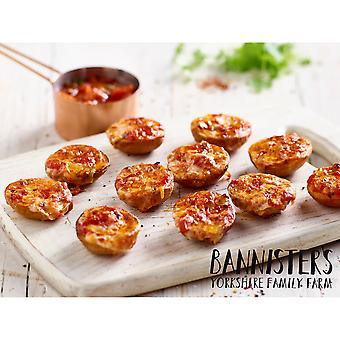 Bannisters Frozen Mini Vegan Arrabbiata Potato Skins