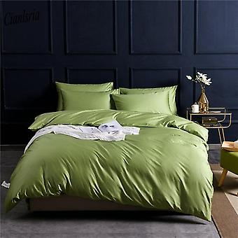 Solid Color Pure Cotton Plain Dyed Bedding Sets
