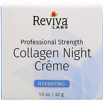 Reviva Labs, Collagen Night Creme, 1.5 oz (42 g)