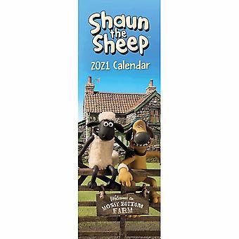Otter House 2021 Slim Calendar-shaun The Sheep