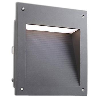 Leds-C4 Micenas - LED Outdoor große Einbauwand Licht Urban Grey IP65