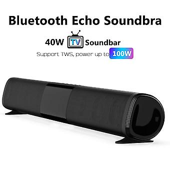 Tws Bluetooth 100w Tv Echo Wall Soundbar Wired And Wireless Home Theater
